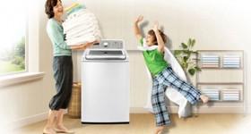 sửa máy giặt rung lắc mạnh