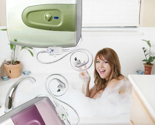 sai lầm khi dùng máy nước nóng