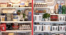 dọn dẹp tủ lạnh