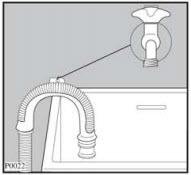 hướng dẫn lắp đặt máy giặt Electrolux