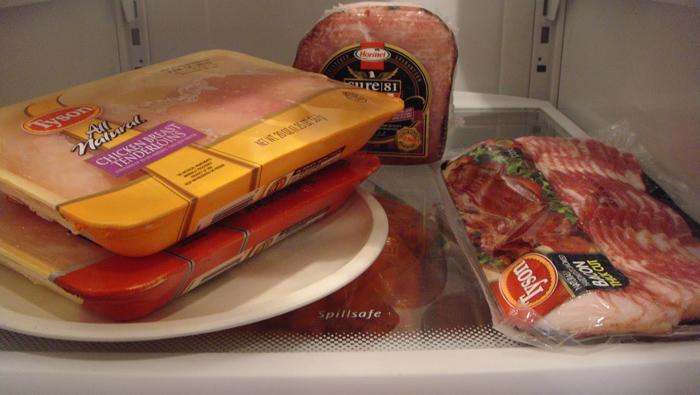 ra đông trong tủ lạnh