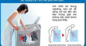 máy giặt lồng nghiêng