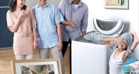 ưu nhược điểm máy giặt cửa trên