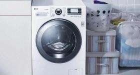 hư hỏng trên máy giặt LG