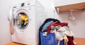 máy giặt bị cặn bẩn