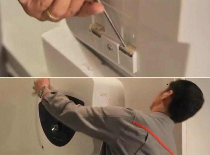 lắp đặt máy nước nóng gián tiếp