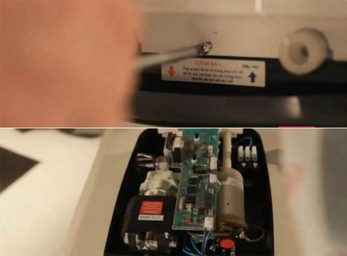 cách lắp đặt máy nước nóng trực tiếp