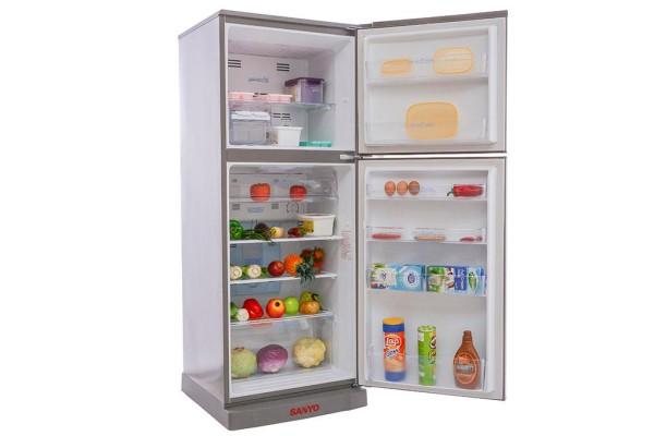 Tủ lạnh Sanyo SR-U185PN với hệ thống khay chống tràn sang trọng