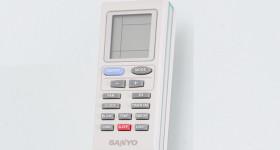 cách điều khiển remote máy lạnh Sanyo